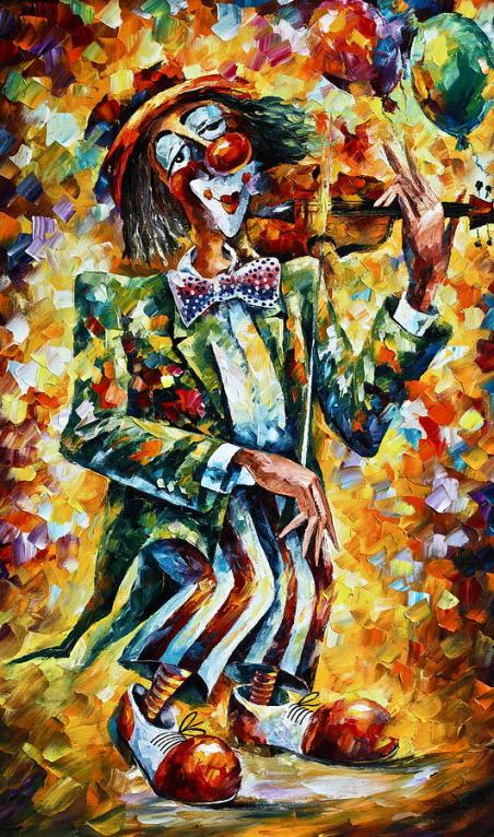 3-clown-leonid-afremov