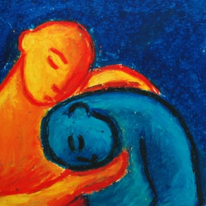 early-oil-pastel-by-michele-angelo